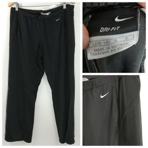 Nike Gray Dri Fit Loose Pants Size L 12-14